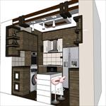 مجموعه-عکس-های-معماری-آشپزخانه-شامل-پلان-و--